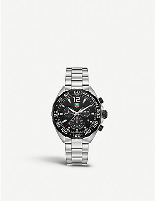 TAG HEUER: CAZ1110.BA0877 Formula 1 stainless steel watch