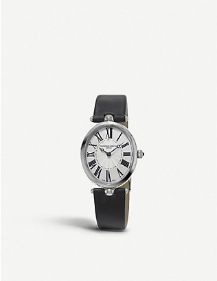 FREDERIQUE CONSTANT: 200mpw2v6 Classics Art Deco stainless steel watch