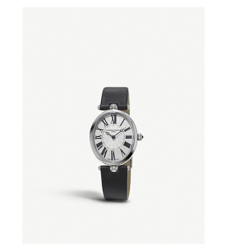 Frederique Constant Watches 200MPW2V6 CLASSICS ART DECO STAINLESS STEEL WATCH