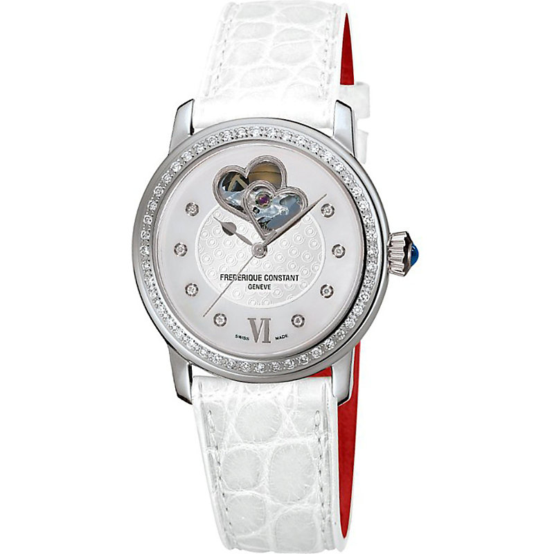 Frederique Constant FC310WHF2PD6 DOUBLE HEART BEAT STAINLESS STEEL