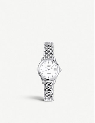 LONGINES: Heritage bracelet watch L4.274.4.27.6