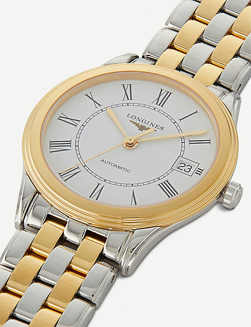 LONGINES Yellow yellow-gold & stainless steel watch