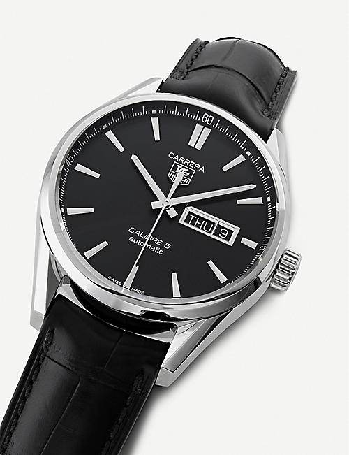 TAG HEUER WAR201A.FC6266 Carrera Calibre 5 Day-Date watch