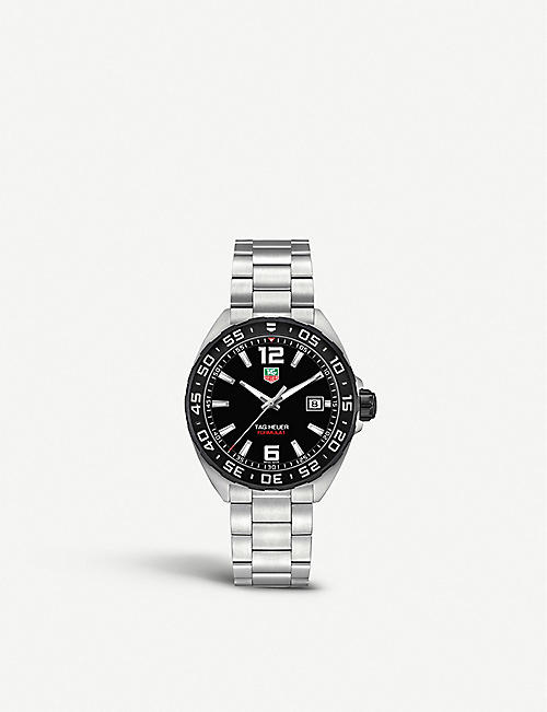 TAG HEUER: WAZ1110.BA0875 Formula 1 stainless steel watch