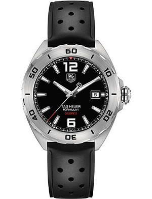 TAG HEUER WAZ2113.FT8023 Formula 1 polished steel watch