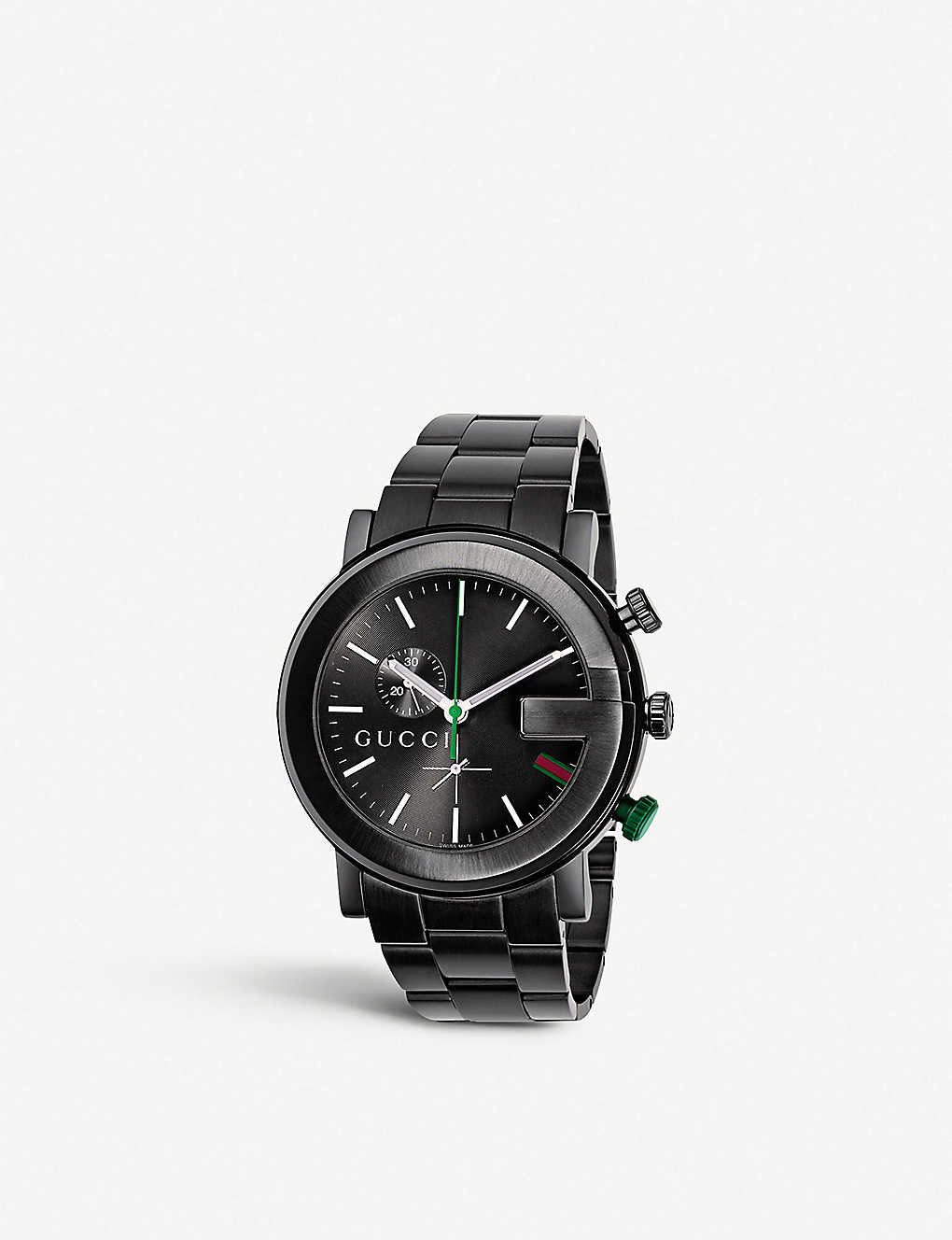 d07683bd5ed GUCCI - YA101331 G-Chrono PVD and stainless steel watch
