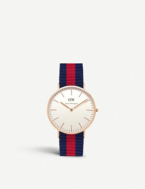 DANIEL WELLINGTON Classic Oxford stainless steel watch 40mm