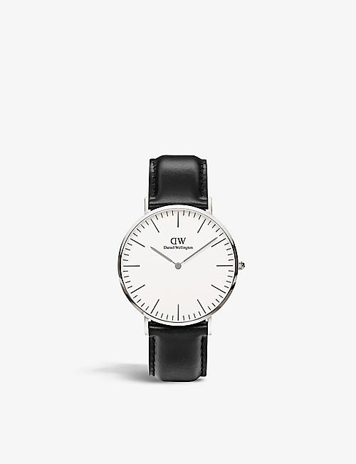 DANIEL WELLINGTON Classic Sheffield stainless steel watch 40mm