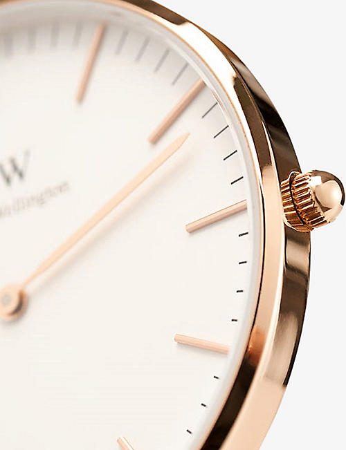 DANIEL WELLINGTON Classic Canterbury stainless steel watch 36mm