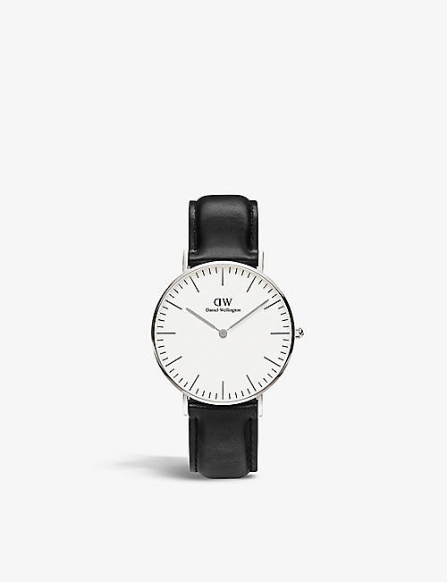 DANIEL WELLINGTON: Classic Winchester stainless steel watch 36mm