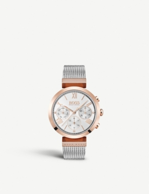 BOSS 1502427 Classic Sports rose gold-plated quartz watch