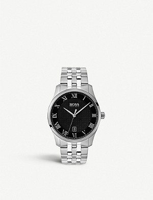BOSS 1513588 Masters stainless steel watch