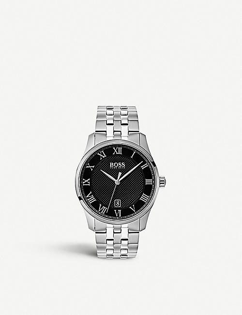 BOSS: 1513588 Masters stainless steel watch