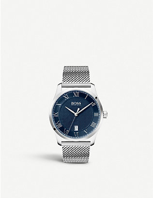 BOSS: 740616 Masters stainless steel watch