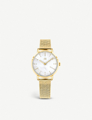 TOMMY HILFIGER 1782042 Lily stainless-steel and mother-of-pearl quartz watch