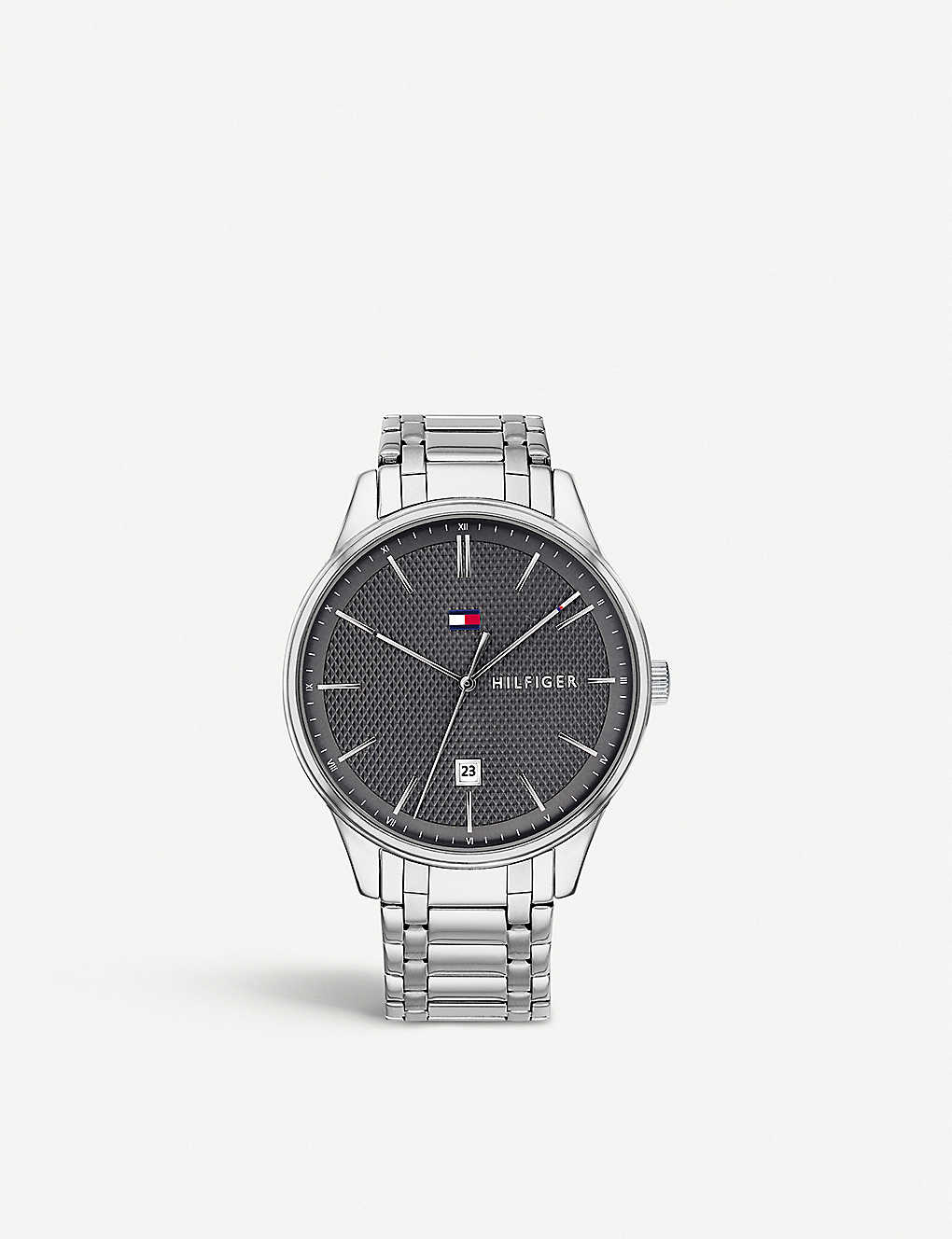 0a74aab1 TOMMY HILFIGER - 1791490 Damon stainless steel watch | Selfridges.com
