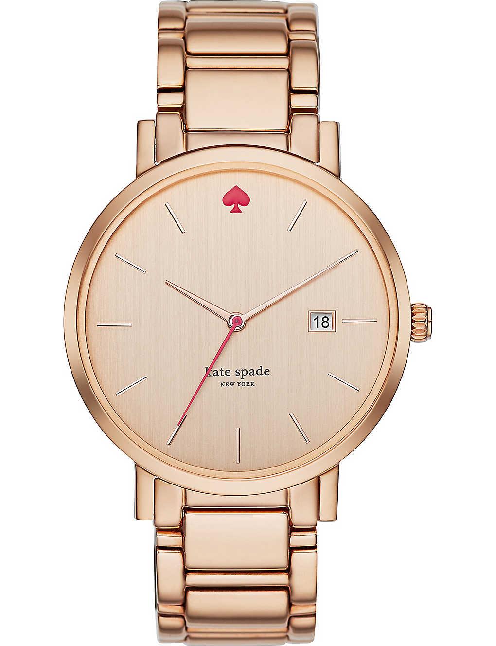 61df162ee KATE SPADE - 1YRU0641 Gramercy stainless steel watch | Selfridges.com