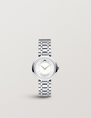 MOVADO 607098 Ultra slim stainless steel watch