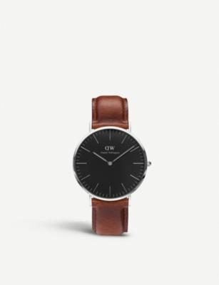 DANIEL WELLINGTON Classic St. Mawes stainless steel watch