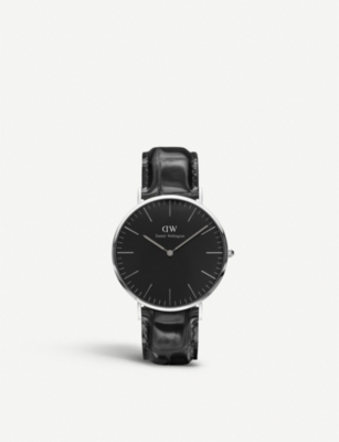 DANIEL WELLINGTON Classic Reading stainless steel watch 40mm