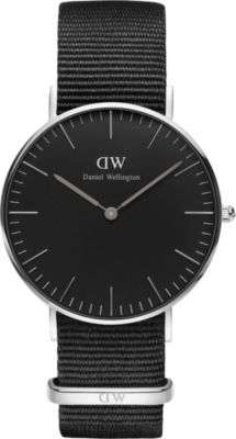 DANIEL WELLINGTON Classic Cornwall 36mm stainless steel watch