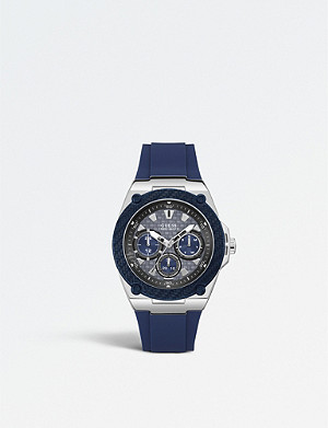 59b9d658f GUESS - W1053L1 Limelight stainless steel and rubber watch ...