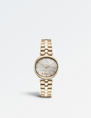 VIVIENNE WESTWOOD VV184LPKRS Belgravia PVD rose gold-plated watch