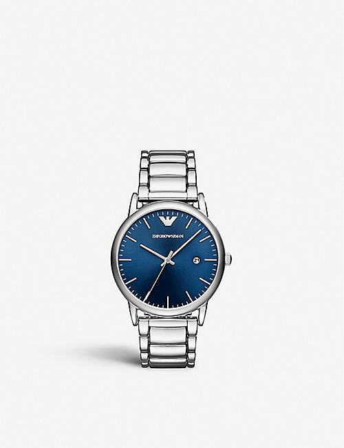 EMPORIO ARMANI AR11089 stainless-steel analogue watch