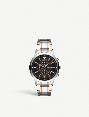EMPORIO ARMANI Renato stainless steel watch