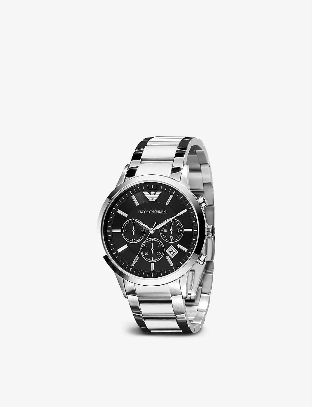 441abcff649e EMPORIO ARMANI SWISS - AR2434 stainless steel watch