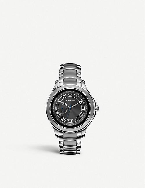 EMPORIO ARMANI ART5010 Alberto stainless steel smart watch