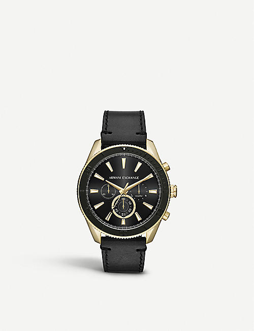 c43c1c52c427 MICHAEL KORS AX1818 gold-coated stainless steel watch