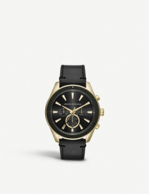 MICHAEL KORS AX1818 gold-coated stainless steel watch