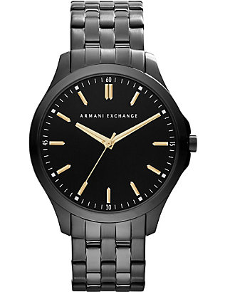 ARMANI EXCHANGE: AX2144 ion-plated steel watch