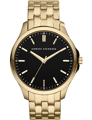 ARMANI EXCHANGE AX2145 gold-plated watch