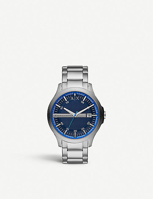 ARMANI EXCHANGE AX2408 Hampton stainless steel watch