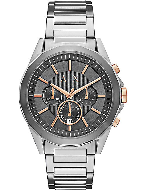 ARMANI EXCHANGE AX2606 stainless steel chronograph watch