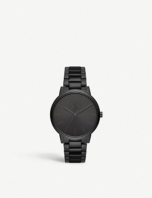 ARMANI EXCHANGE Cayde stainless steel