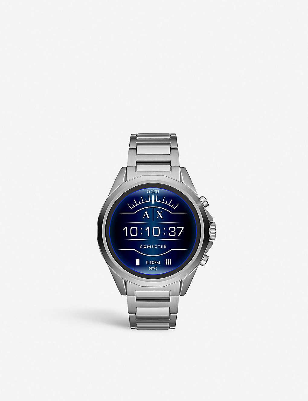 8d461157f ARMANI EXCHANGE - AXT2000 stainless steel smartwatch | Selfridges.com