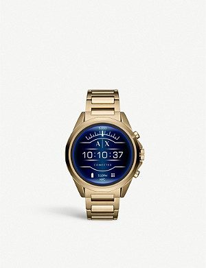 ARMANI EXCHANGE AXT2001 gold-plated stainless steel smartwatch