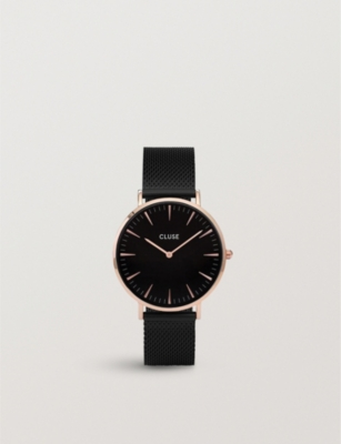 CLUSE CL18034 rose gold-plated watch