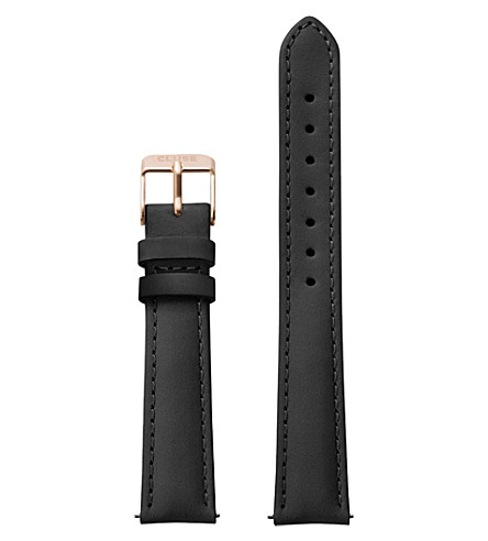 Cluse CLS301 Minuit leather watch strap