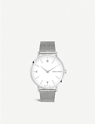 LARSSON & JENNINGS: CODE1380001 Code Classic stainless steel watch