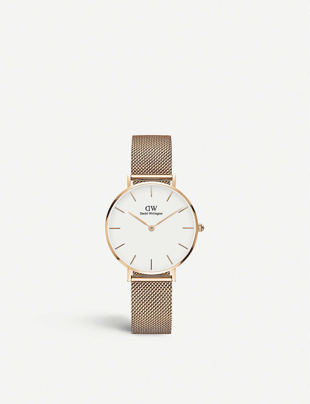 2930fb2182fb DANIEL WELLINGTON - Classic Petite Melrose rose gold-plated watch ...