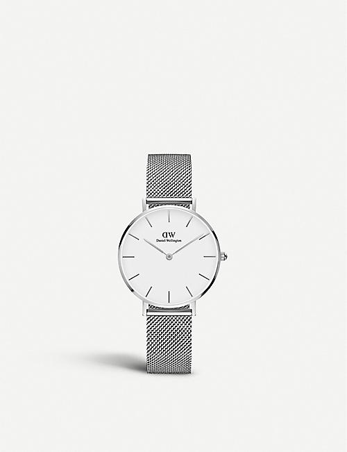 DANIEL WELLINGTON: Classic Petite Sterling stainless steel watch