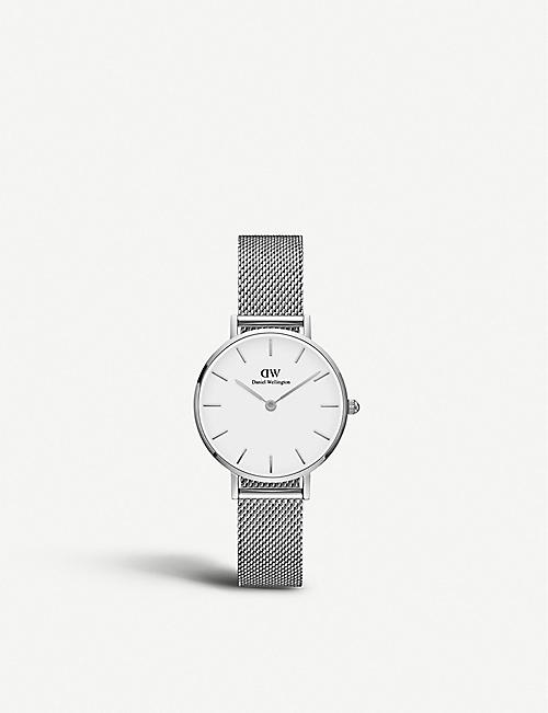 DANIEL WELLINGTON: Petite Sterling stainless steel watch 28mm