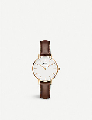 DANIEL WELLINGTON: Classic Petite St Mawes rose gold-plated watch 28mm
