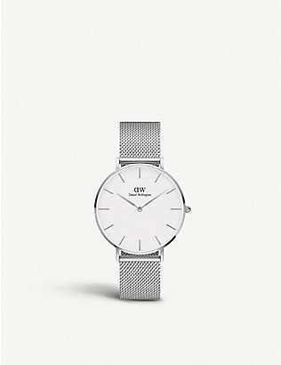 DANIEL WELLINGTON: Classic Petite stainless steel watch