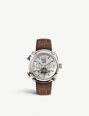 INGERSOLL I01103 Michigan Automatic brown leather watch