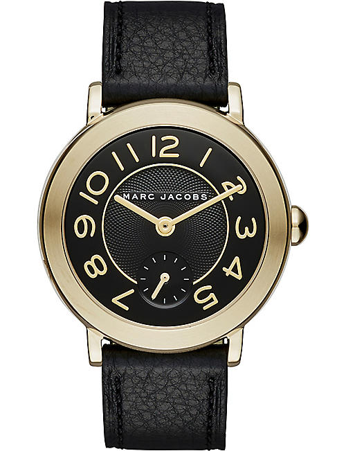 5a152907c9f39 Riley two-tone silver and rose-gold watch. £229.00. MARC JACOBS Marc Jacobs  Riley Strap Watch 28mm